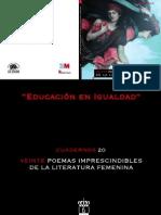 Cuadernos20 Veinte Poemas Imprescindibles Literatura Femenina