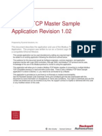 ModbusTCP Master Application R102