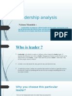 Leadership Analysis