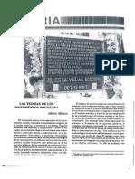 Melucci Alberto, Las Teorias de los Movimientos Sociales