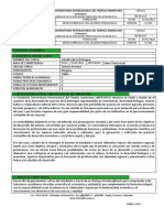 Microcurriculum Catedra de La Orinoquia