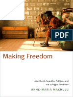 Making Freedom by Anne-Maria Makhulu