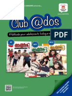 Depliant Collection Club Ados