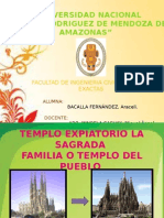 La Sagrada Familia, Antoni Gaudi