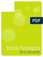 Efectos Psicologicos de La Iluminacion
