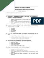 Examen Mantenimiento PAS Universidad Politecnica Madrid 2010