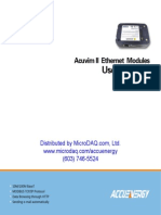 Acuvim Ethernet Modules User Manual