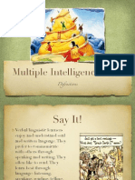 multipleintelligencesdefinitions