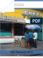 Digital Democracy Haiti Report 2010