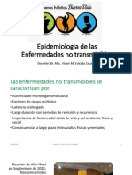 Epidemiologia de Las Enfermedades No Transmisibles