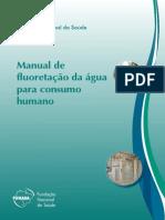 manual de fluoretação da água para consumo Humano FUNASA