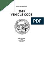 2015 California Vehicle Code