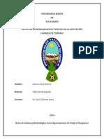 Ruta Paleontologica en Tarija y Chuquisaca