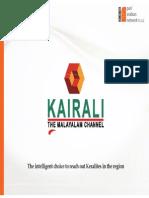 Kairali Final KSA