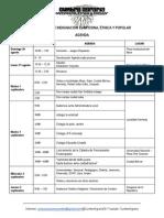 Agenda Jornadas de Indignación Campesina, Étnica y Popular