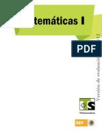 Matemáticas+I