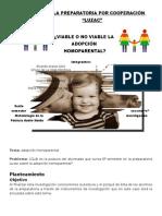 Ensayo Adopción Homoparental