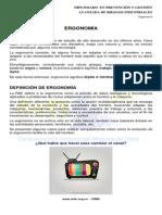 1. Ergonomía - Logística