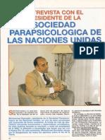 Entrevista Con El Presidente de La Sociedad Parasicologica de Las Naciones Unidas R-006 Nº045 - Mas Alla de La Ciencia - Vicufo2
