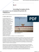 20150324 La Universidad Investiga La Mejora de La Fertilidad Con El Semen de Presos de Villahierro - León - Diario de León