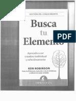 0 Ken Robinson - Busca Tu Elemento Ch5