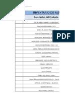 Inventario Almacen Sena 43