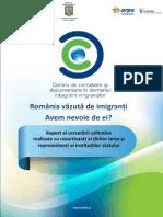 Romania Vazuta de Imigranti raport Calitativ 2015