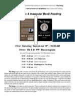 Joe Arnold Book Launch Flyer DC 2015 09 19 Revision #1