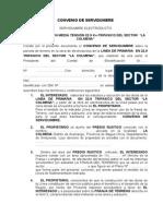 CONVENIO DE SERVIDUMBRE -ARAMANGO LA COLMENA.doc
