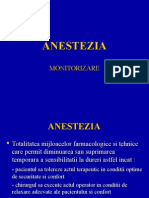 Anestezia-monitorizare