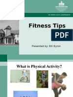 SONH fitness tips.ppt