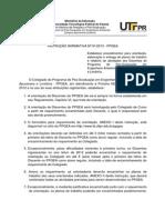 Instrucao Normativa 01 2013 Discente