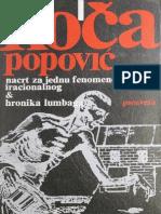 Nacrt Za Jednu Fenomenologiju Iracionalnog - Koca Popovic
