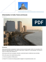 Urbanization in India Facts and Issues