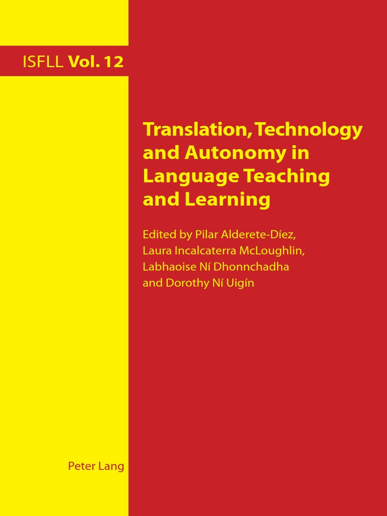 Translation technology and autonomy in language teaching and le translation technology and autonomy in language teaching and le language education second language fandeluxe Image collections