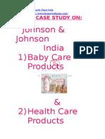 48800345 Johnson n Johnson Case Study