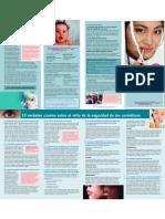 cosmeticos seguros y toxicos - salud. Cancerígenos en cosméticos ?  Mercurio, hidroquinona, nanoparticulas, placenta, ftalatos, plomo, petroquimicos, etc