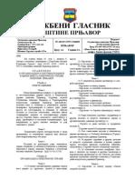 Pravilnik o Organizaciji i Sistematizaciji Radnih Mjesta Opštinske Uprave Opštine Prnjavor