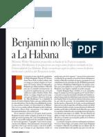 Rojas - Benjamin No Llegó a La Habana