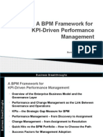A BPM Framework for KPI Driven Performance Management v1r4