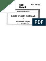 Bayonet, M1905 - United States Army Jan 2, 1940
