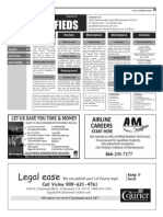 Claremont COURIER Classifieds 8-28-15