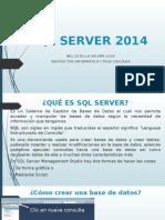 Iniciando Con SQL Server 2014