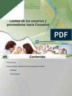 Centro Nacional de Consultoria Julio - Agosto 2013