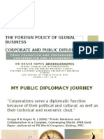 The Foreign Policy of Global Business