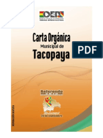 Carta Orgánica Tacopaya