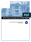 2015 Texas Housing Tax Credit Report