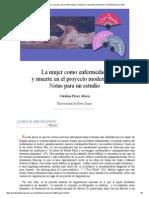 Catalina Pérez Abreu_ La Mujer Como Enfermedad y Muerte en El Proyecto Modernista- Nº 30 Espéculo (UCM)