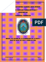 Manual  forma farmaceutica