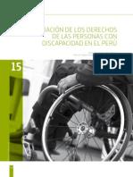 Discapacidad y Derechos 2014 15